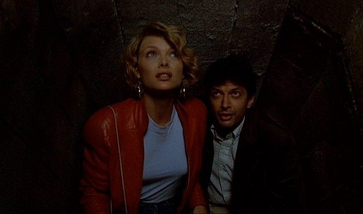 Jeff Goldblum and Michelle Pfeiffer star in the neon noir from John Landis