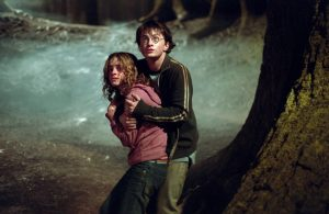"Daniel Radcliffe and Emma Watson in the third ""Harry Potter"" feature"