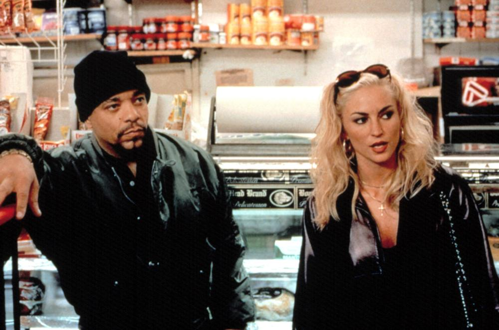 Ice-T and Drea Matteo in the film by Abel Ferrara