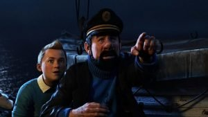 Steven Spielberg directs the big screen adventure adapted from the Herge graphic novels