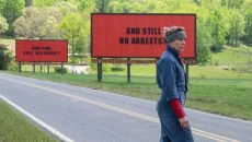 Frances McDormand stars in the Oscar-nominated film by Martin McDonagh