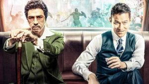 Donnie Yen and Andy Lau in the Hong Kong crime drama from Wong Jing