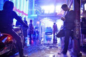 Alexander Skarsgard in the Netflix exclusive science fiction film from Duncan Jones