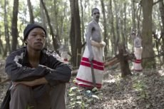 Nakhane Touré and Niza Jay Ncoyini in the film directed by John Trengove