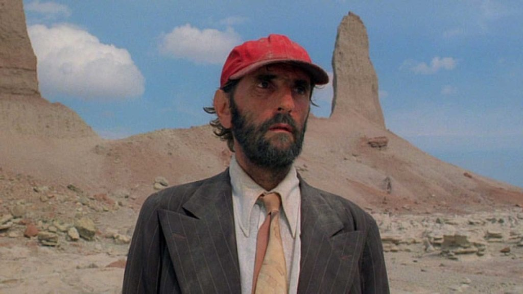 Harry Dean Stanton stars in the Palm d'or winning film by Wim Wenders