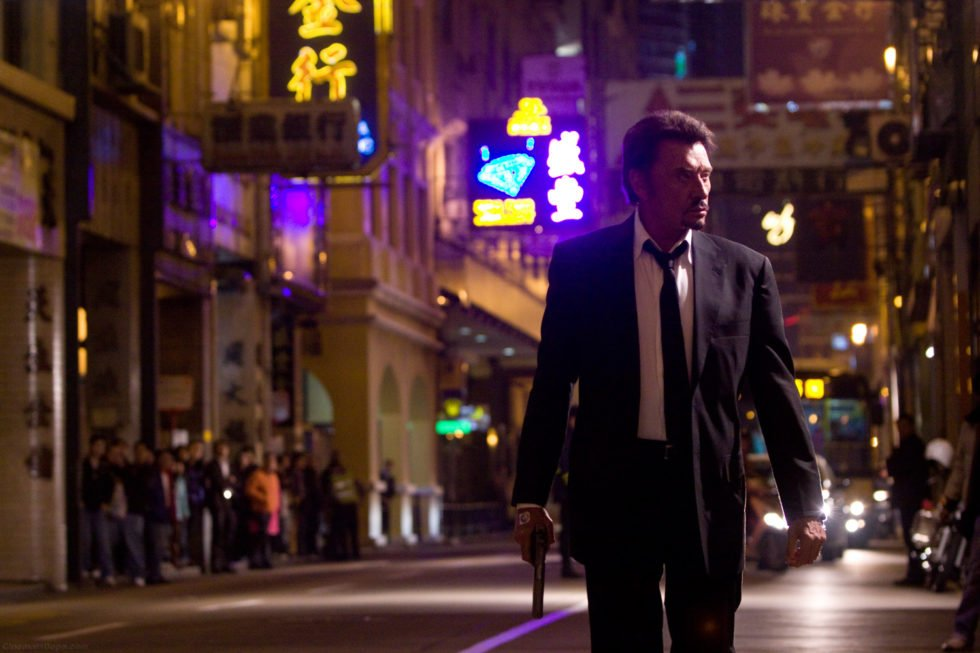 Johnny Hallyday stars in the Johnnie To crime thriller from Hong Kong