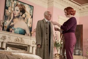 Terence Stamp and Christina Hendricks in the Agatha Christie adaptation