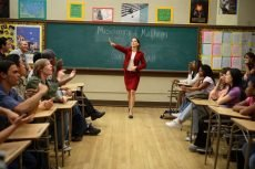 Hillary Swank is real-life teacher Erin Gruwell in the drama directed by Richard LaGravenese