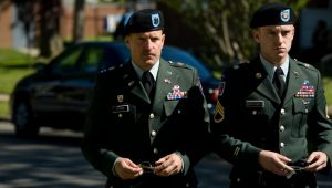 Ben Foster and Woody Harrelson star the homefront war drama directed by Oren Movermen