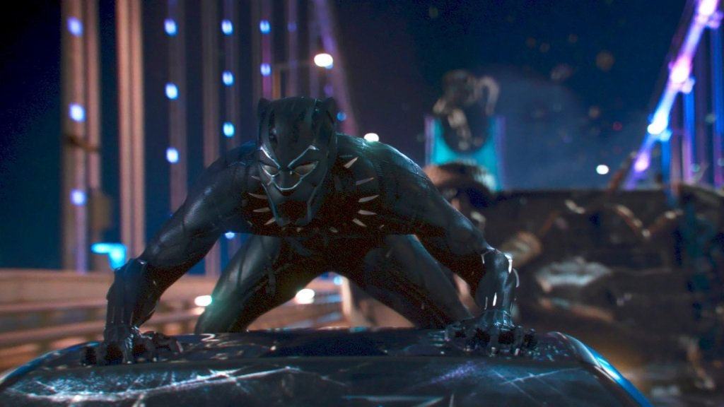 Chadwick Boseman is the African superhero in the Marvel Comics hit movie