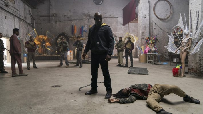 Mike Colter stars in the second season of Marvel superhero series for Netflix