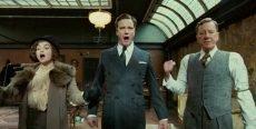 Helena Bonham Carter, Colin Firth and Geoffrey Rush in the Oscar-winning film by Tom Hooper