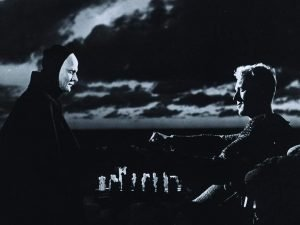 Max von Sydow and Bengt Ekerot star in the Swedish classic by Ingmar Bergman