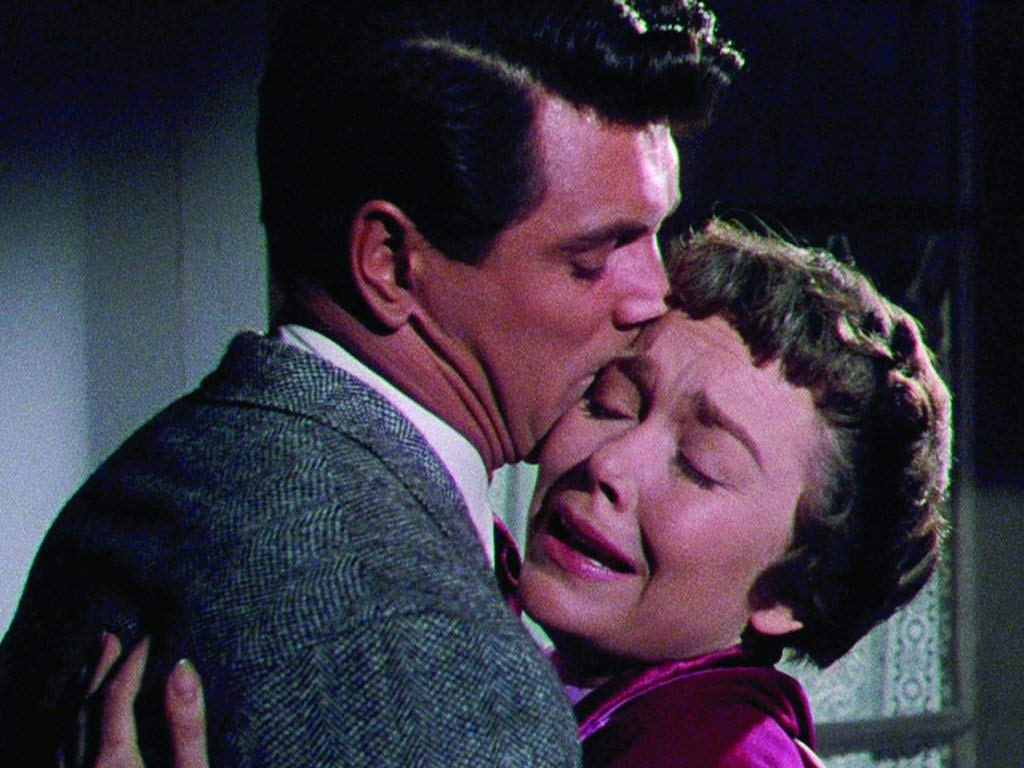 Jane Wyman and Rock Hudson star in the 1954 melodrama classic by Douglas Sirk