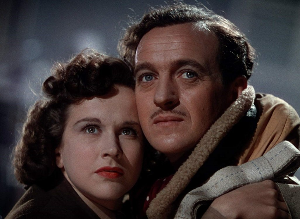 Kim Hunter and David Niven star in the 1946 romantic classic by Michael Powell and Emerich Pressburger