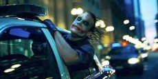 Heath Ledger is The Joker in the Christopher Nolan Batman sequel starring Christian Bale