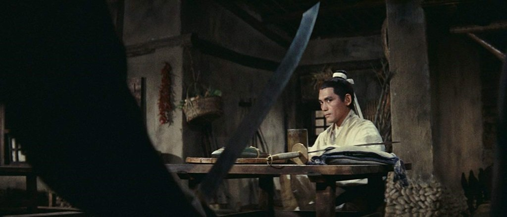 Shih Chun in King Hu's 1967 wuxia pian classic from Taiwan