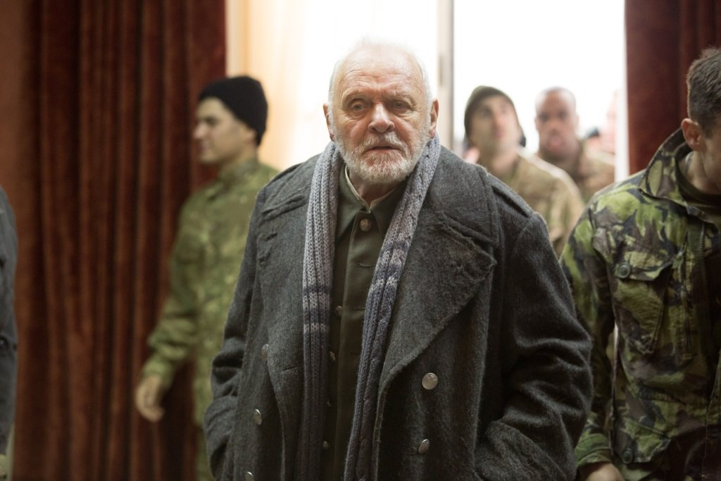 Anthony Hopkins in the new version of the Shakespeare classic co-starring Emma Thompson, Emily Watson, Florence Pugh, and Jim Broadbent