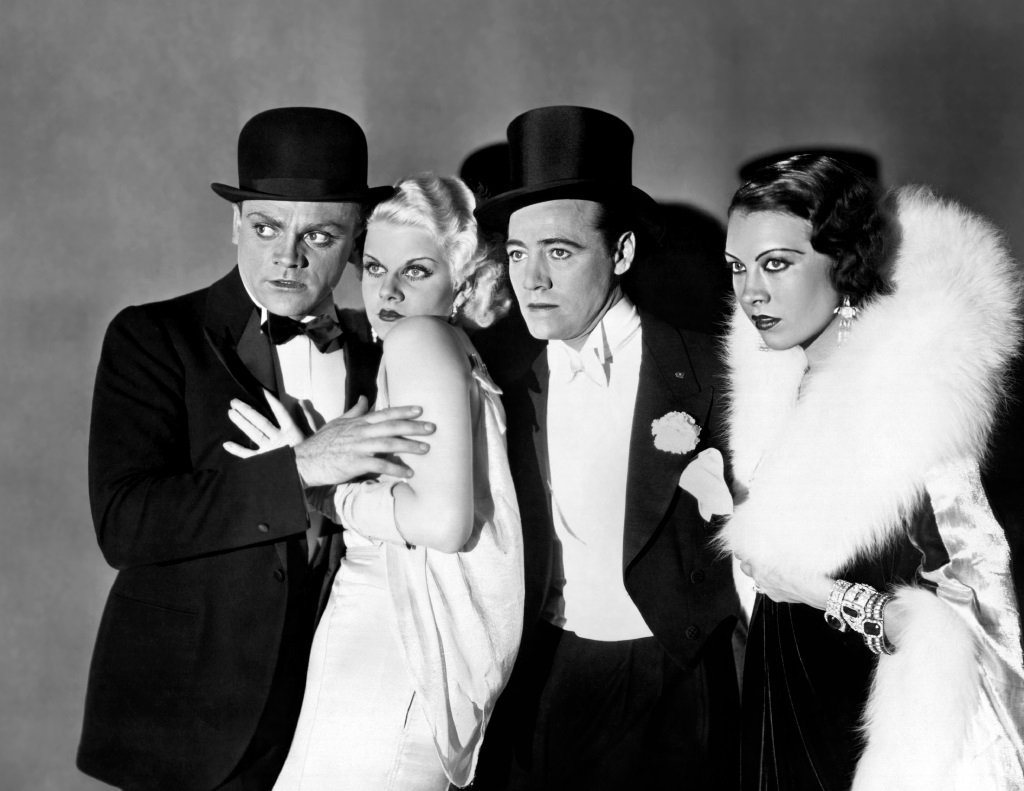 James Cagney and Jean Harlow star in the gangster classic by William Wellman