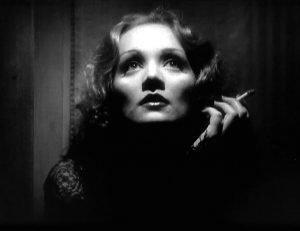 Marlene Dietrich in the 1932 classic by Josef von Sternberg