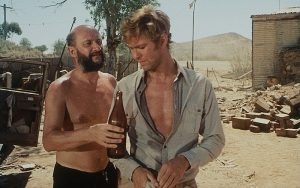 Donald Pleasance and Gary Bond in the 1971 Australian drama by Ted Kotcheff
