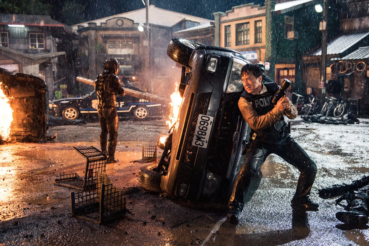 Jackie Chan in the Hong Kong action film from Leo Zhang