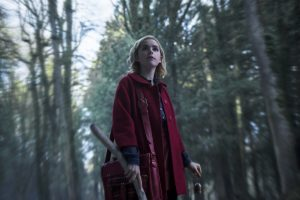 Kiernan Shipka in the Netflix Original series created by Roberto Aguirre-Sacasa