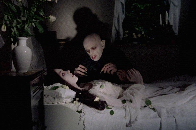 Isabelle Adjani and Klaus Kinski in the 1979 remake by Werner Herzog