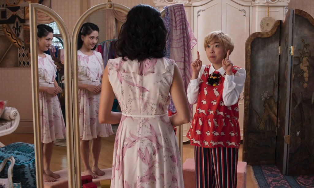 Constance Wu and Awkwafina star in the hit 2018 romantic comedy.