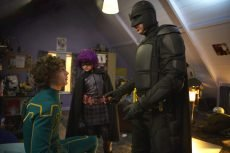 Aaron Johnson, Chloë Grace Moretz, and Nicolas Cage star in the superhero movie by Matthew Vaughn