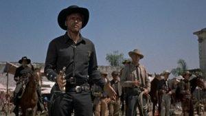 Burt Lancaster and Gary Cooper in the 1954 western by Robert Aldrich