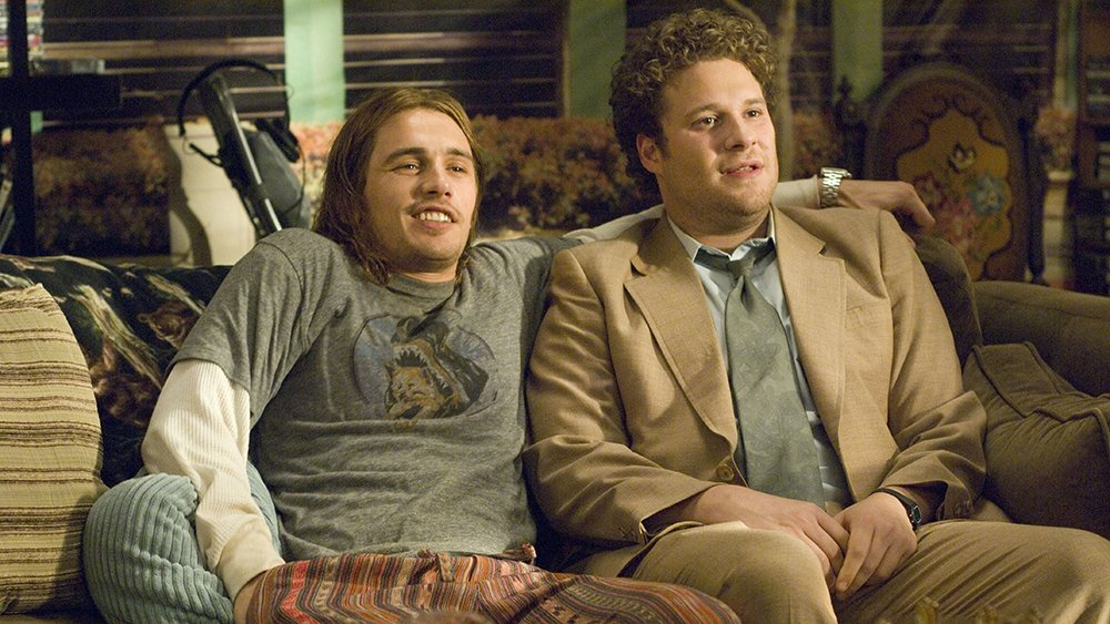James Franco and Seth Rogen ride the 'Pineapple Express' on